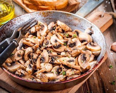Recettes de champignons