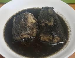 La recette du Mbongo Tchobi