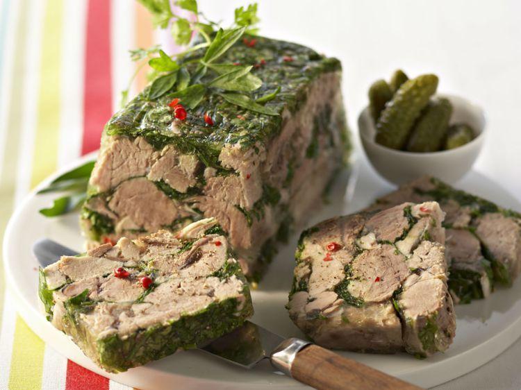 Terrine de jarret de porc au persil (Cuisine Française)