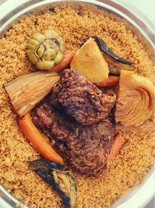 Riz gras mauritanien
