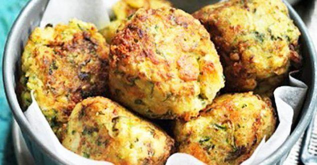 Beignets de pommes de terre à la viande hachée