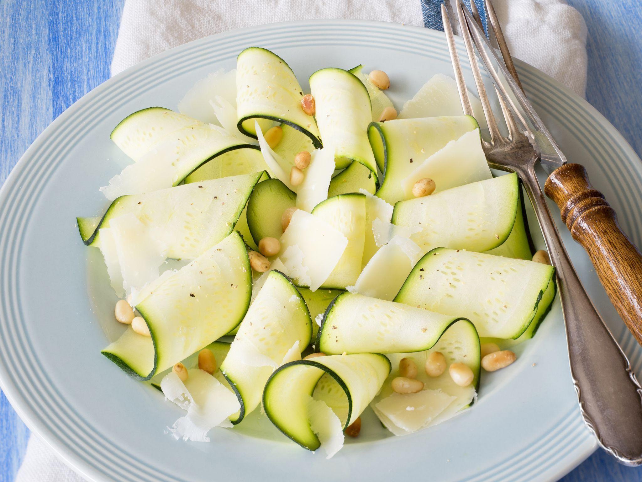 Salades de courgettes