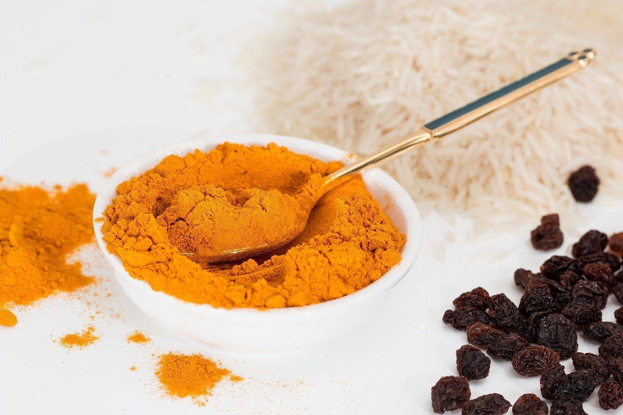 curry de crevettes sucrées pimentées