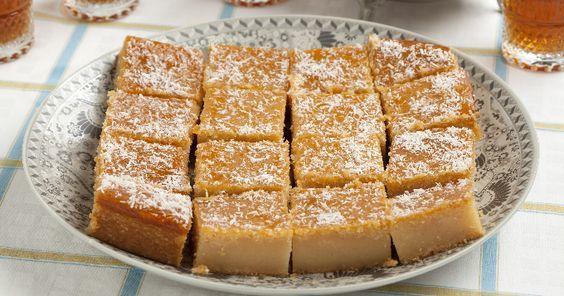 Cake au fromage blanc à l'orientale